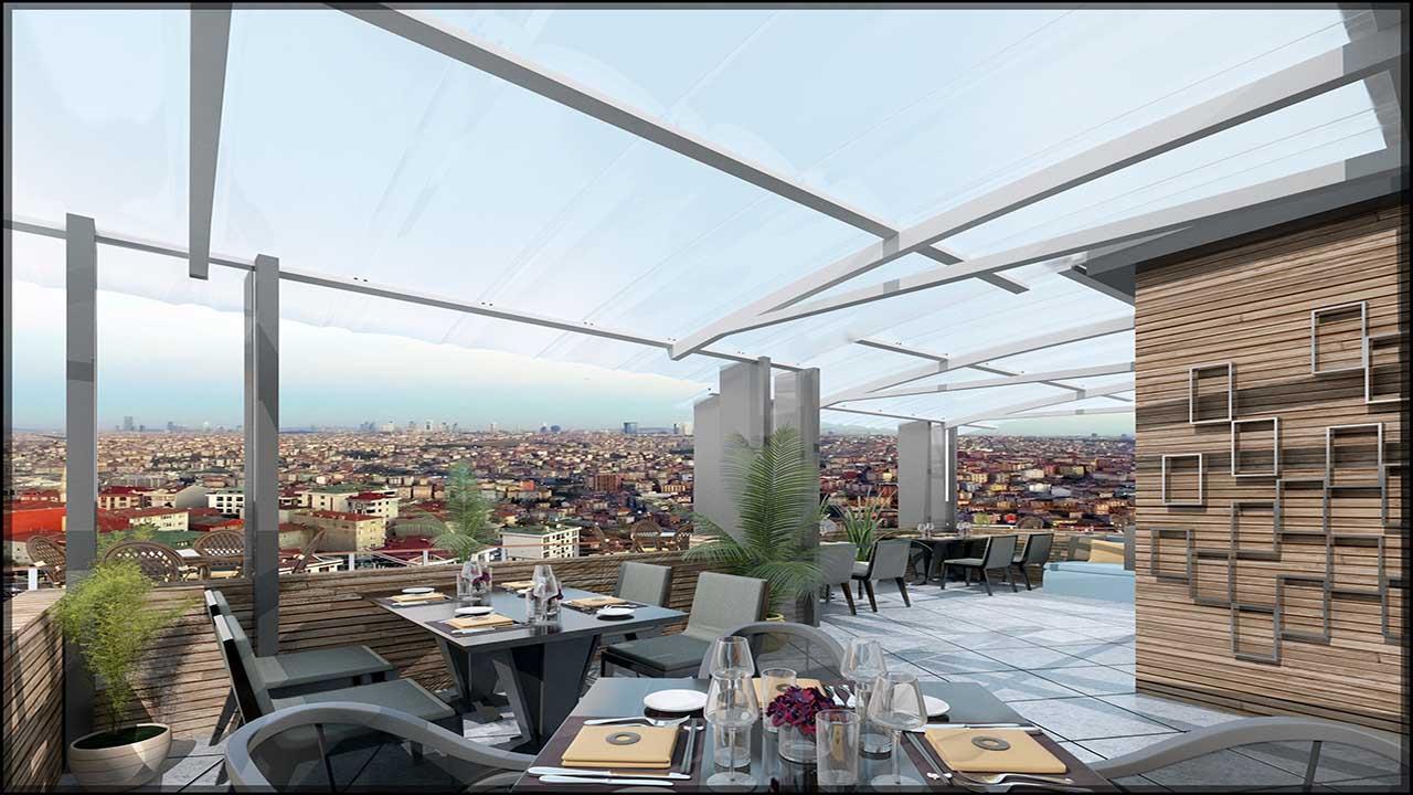 Sea View Istanbul Flat | Maximos Estate Flats 1