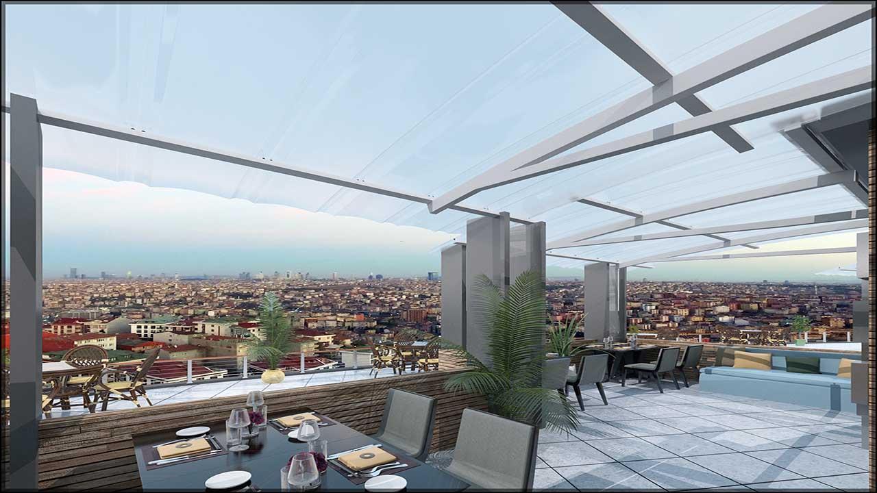 Sea View Istanbul Flat | Maximos Estate Flats 10