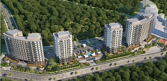 Istanbul Bahcesehir Luxury Apartments 6