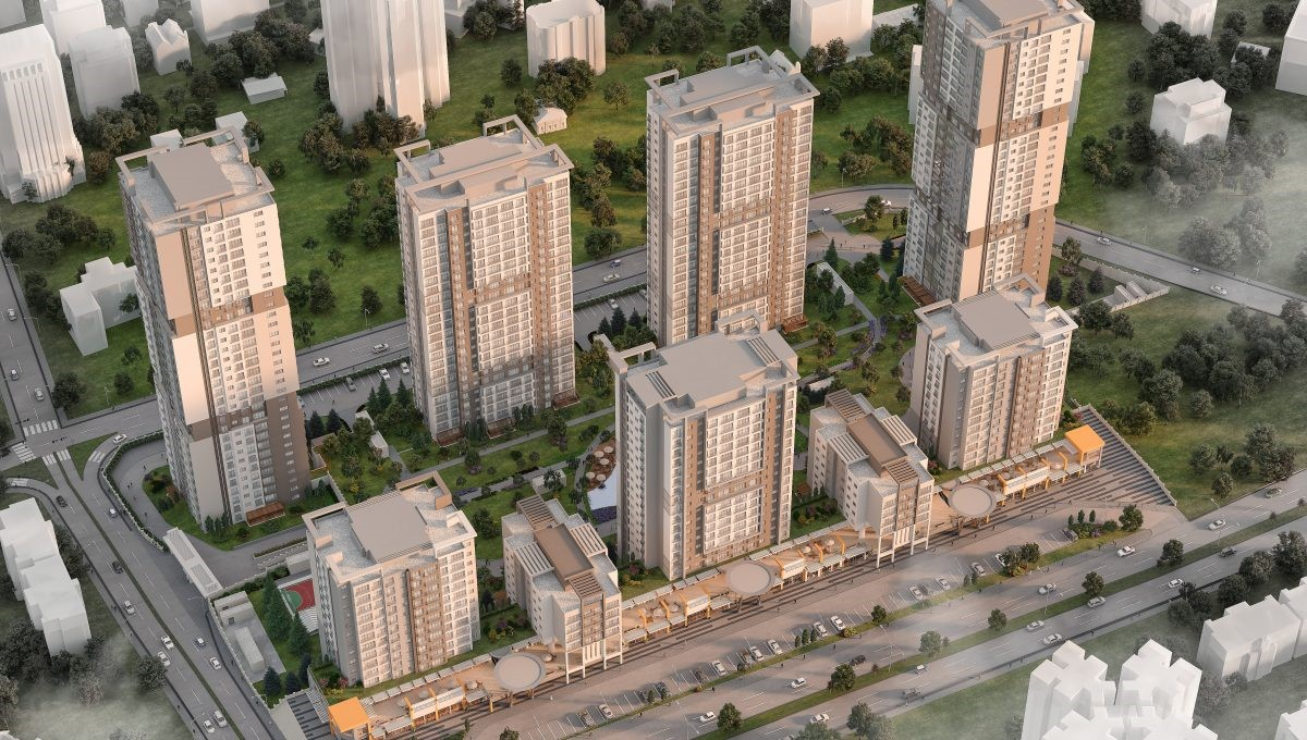 Apartments for sale in Eyup in Istanbul 11