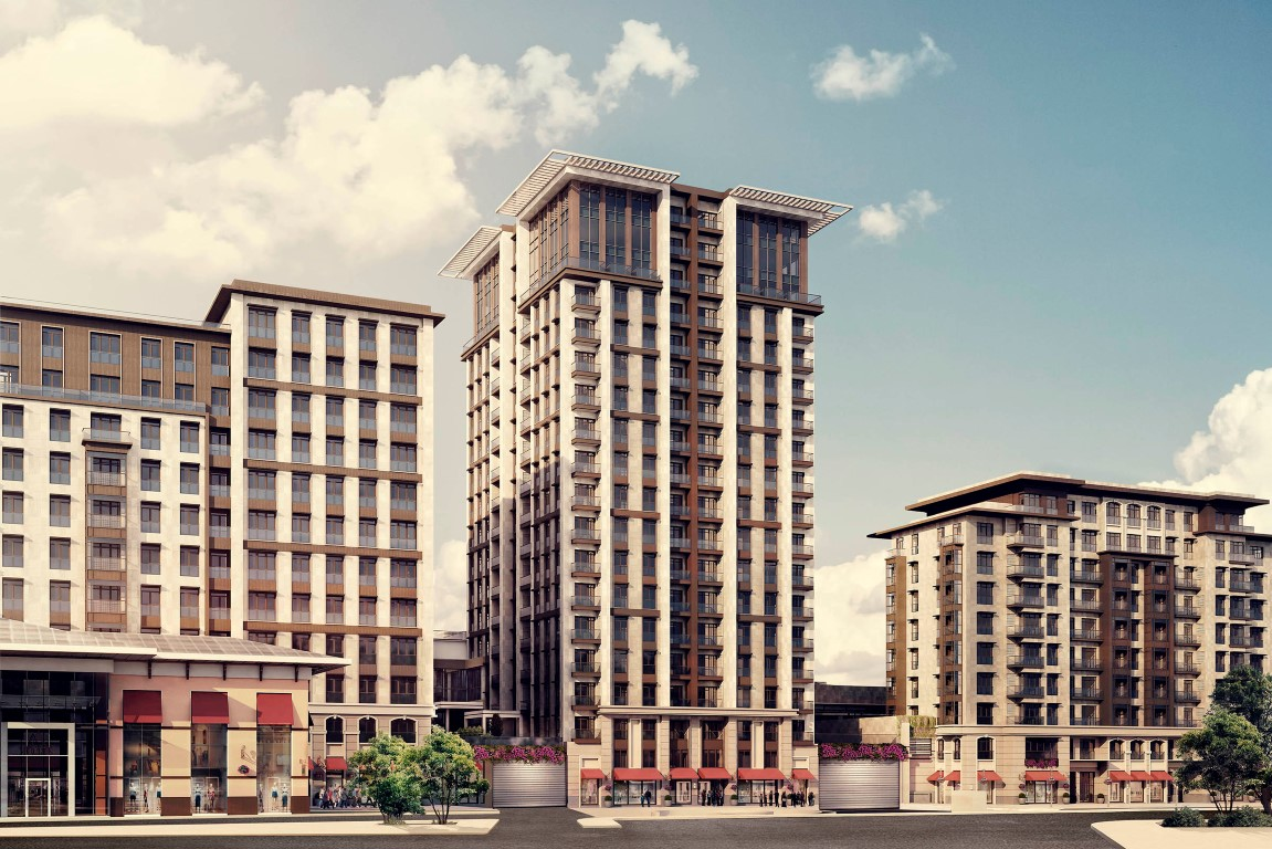 Apartments for sale in the center of Istanbul 12