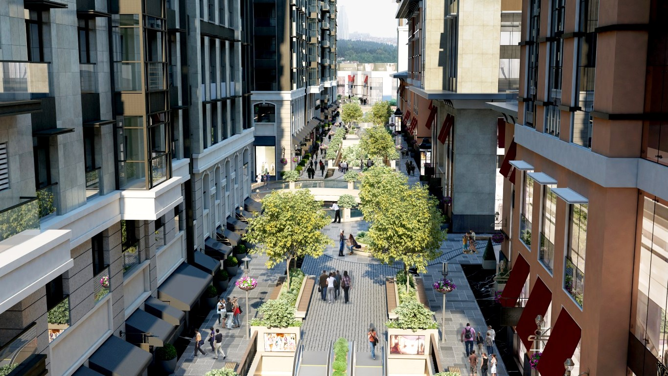 Apartments for sale in the center of Istanbul 20