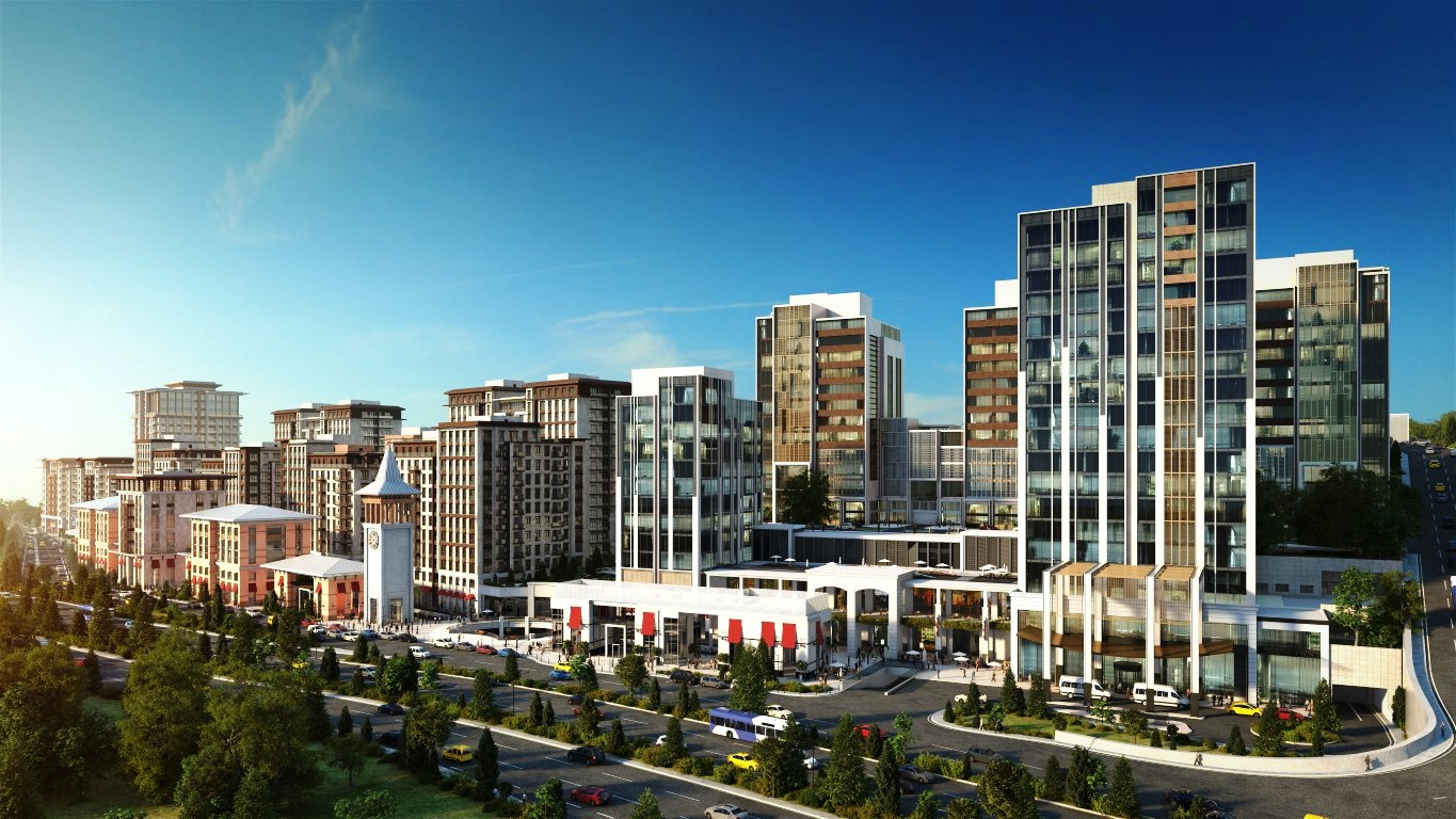 Apartments for sale in the center of Istanbul 16