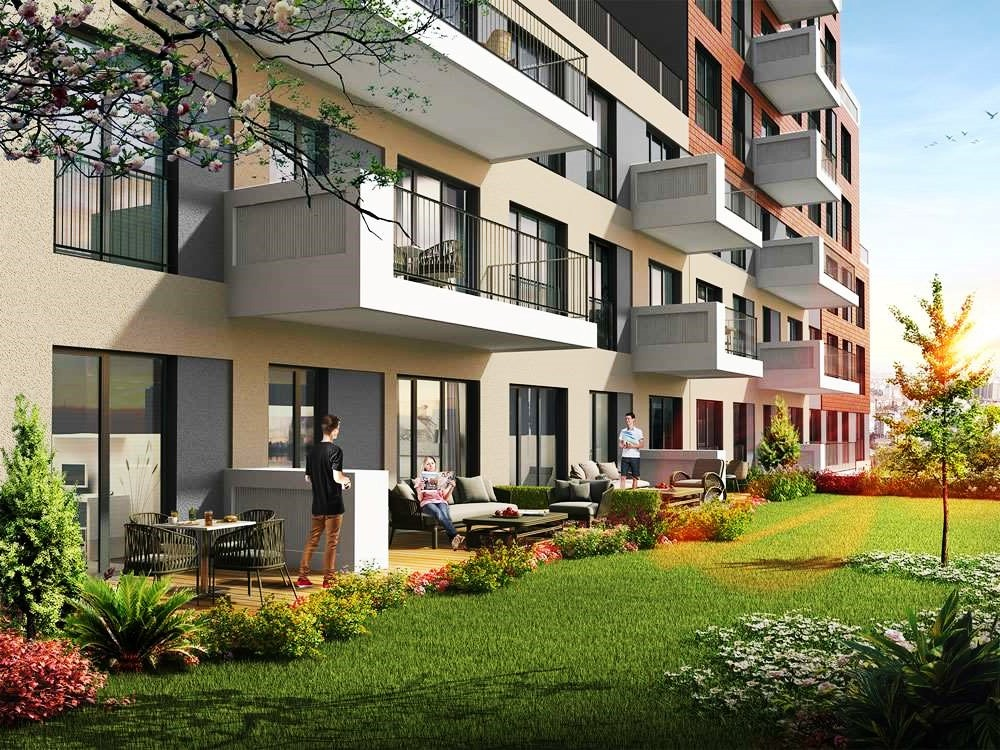 Apartments for sale in Eyup in Istanbul 1