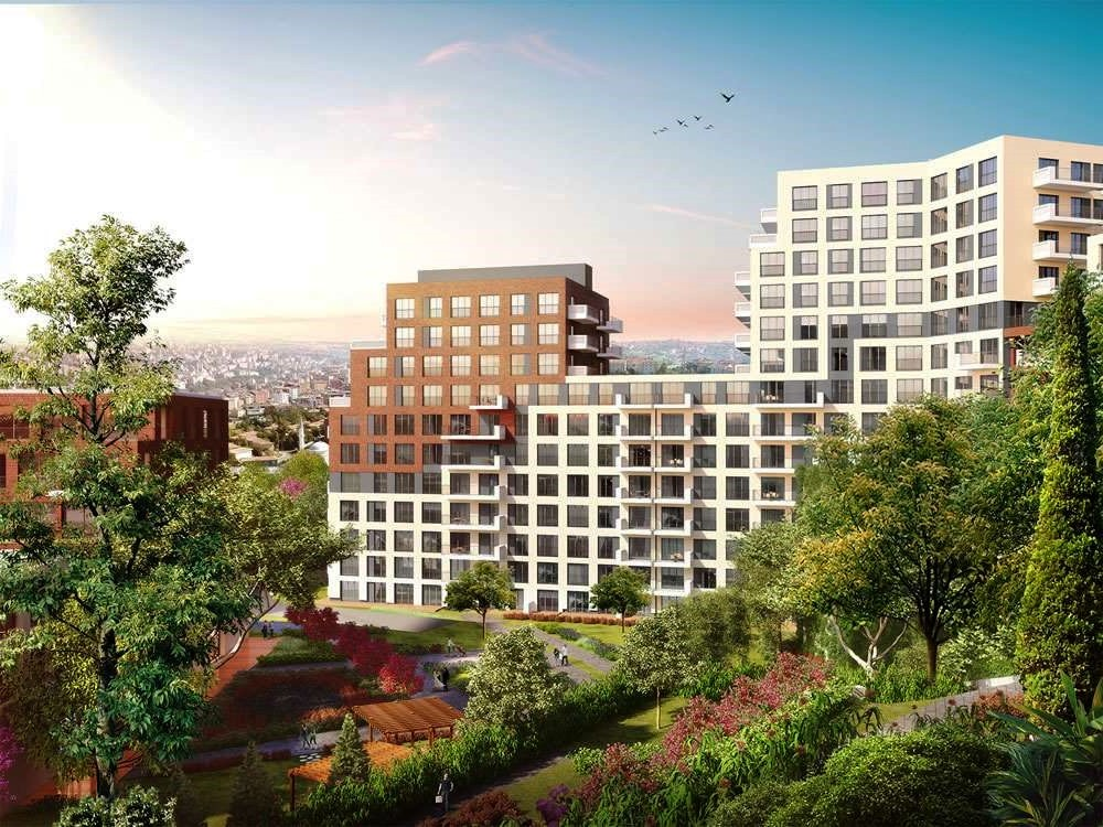 Apartments for sale in Eyup in Istanbul 3