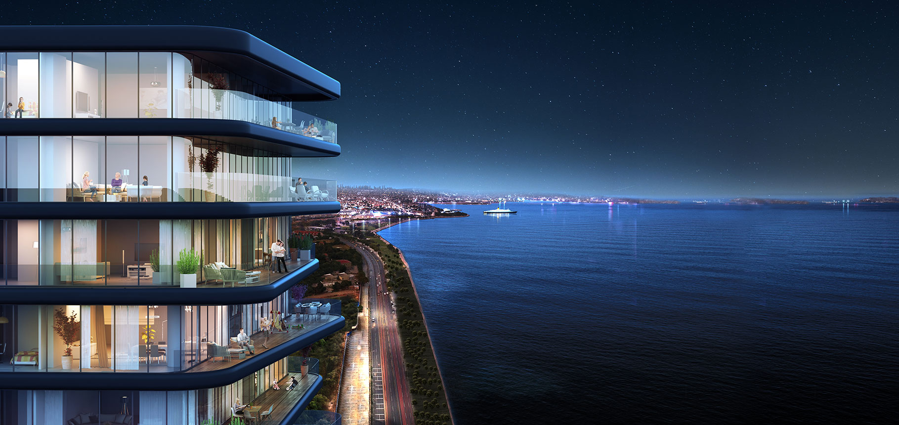 Seafront properties for sale in Istanbul 1