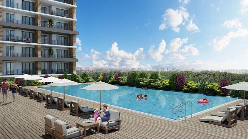 Apartments in Convenient Residential area in Esenyurt 14
