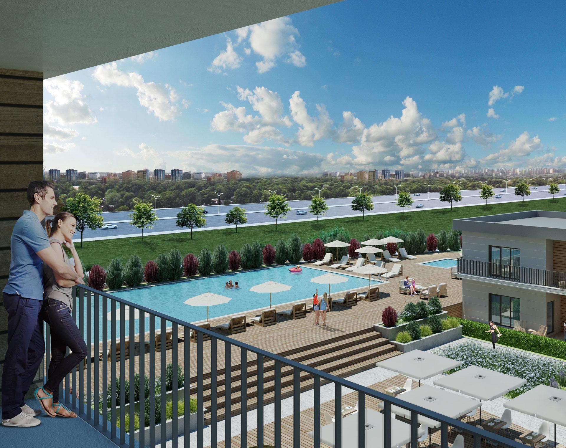 Apartments in Convenient Residential area in Esenyurt 7