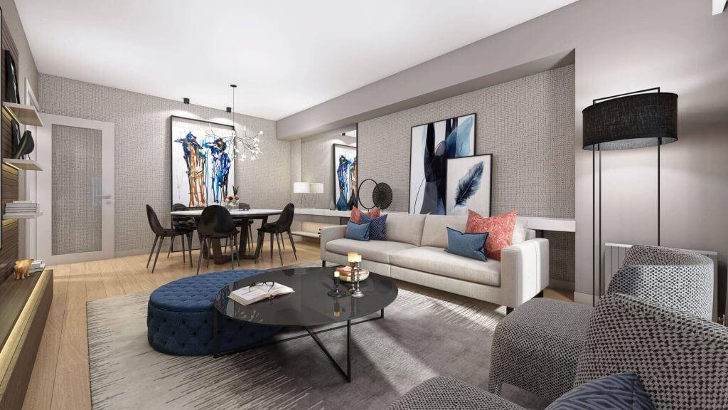 Apartments in Convenient Residential area in Esenyurt 17