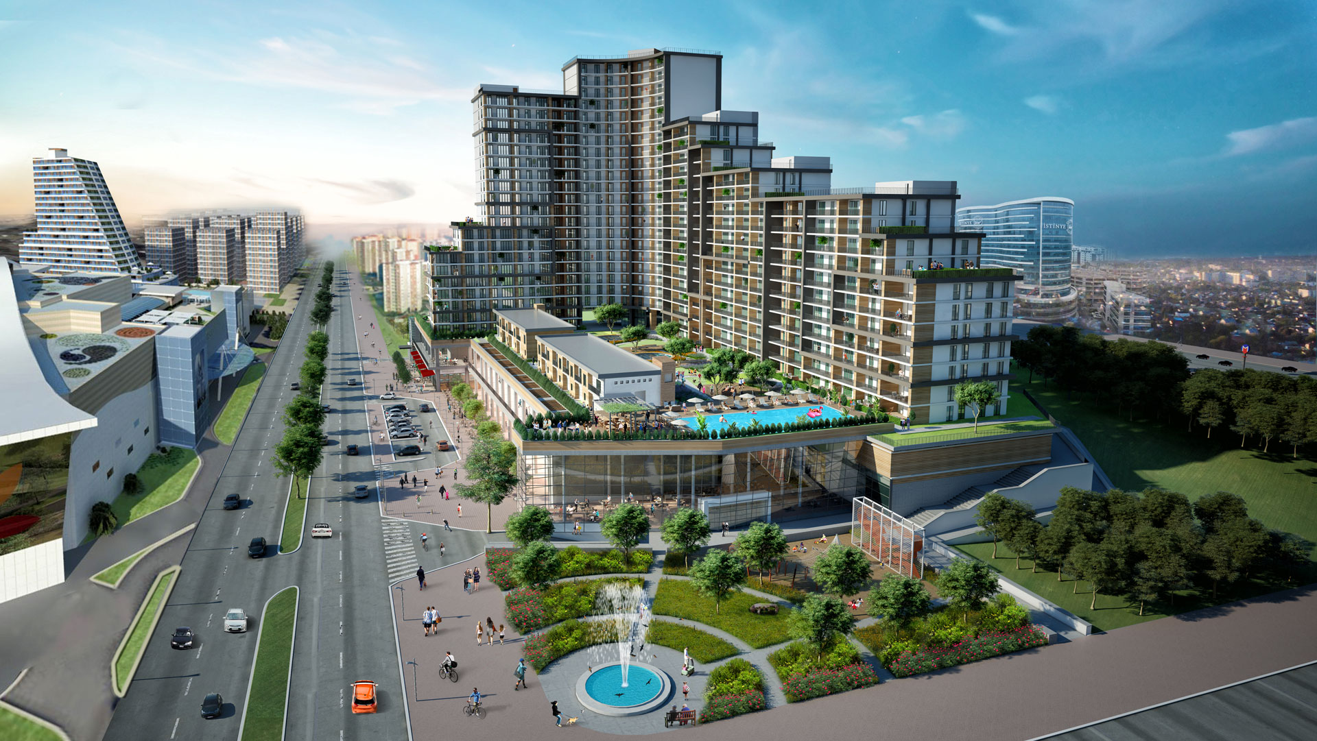 Apartments in Convenient Residential area in Esenyurt 12