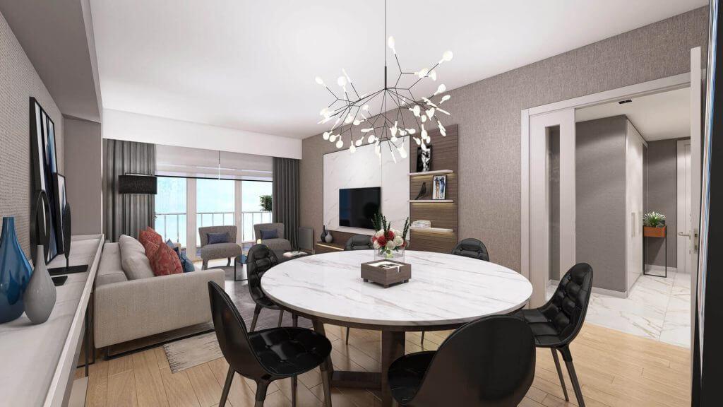Apartments in Convenient Residential area in Esenyurt 11
