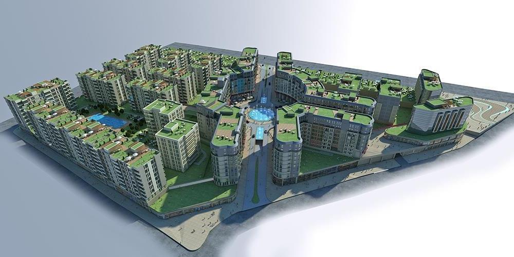 Convenient Apartments for sale in Bahcesehir 5