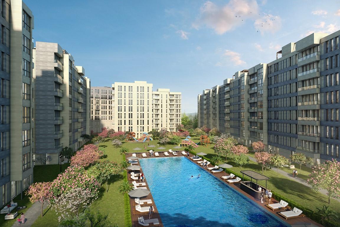 Convenient Apartments for sale in Bahcesehir 15