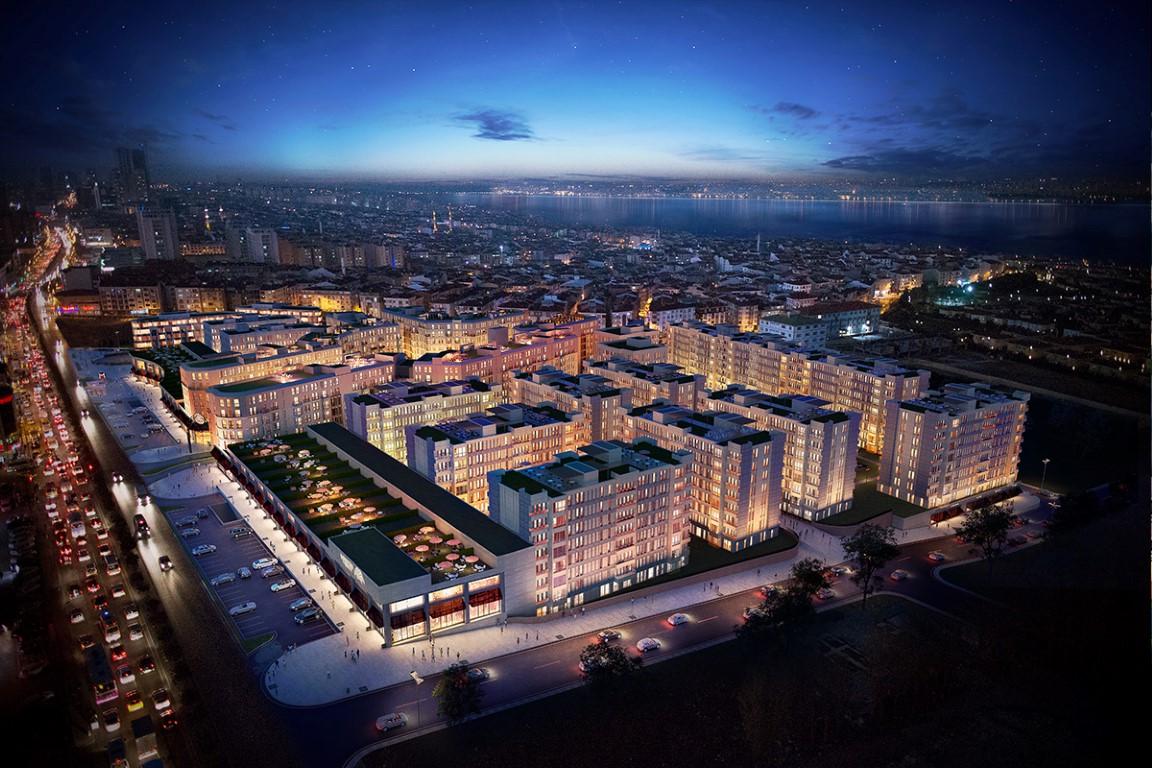 Convenient Apartments for sale in Bahcesehir 14