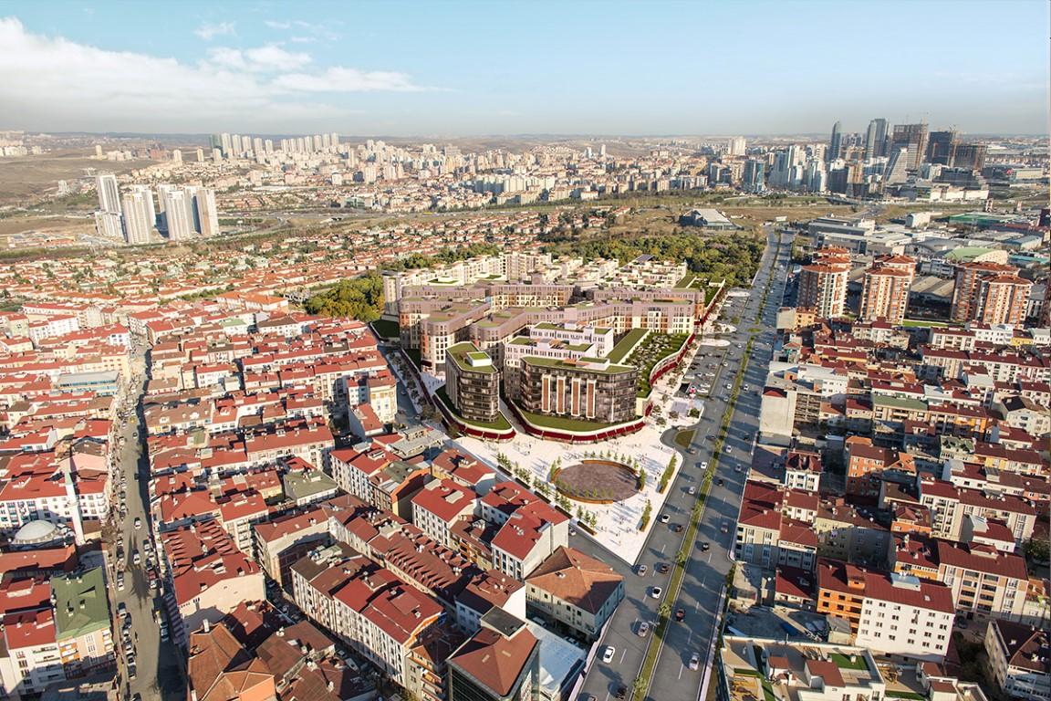 Convenient Apartments for sale in Bahcesehir 12