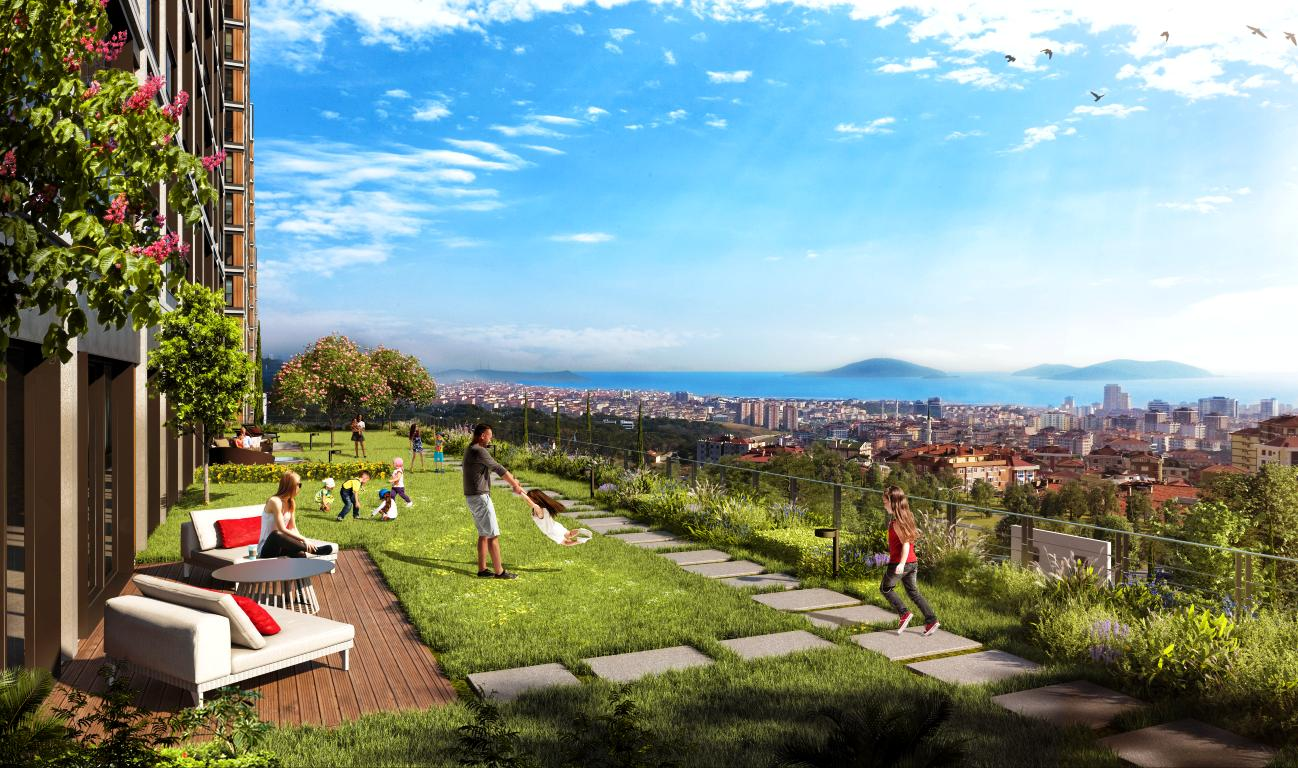 Residential area in Maltepe for nature lovers 4