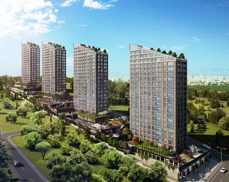 Residential area in Maltepe for nature lovers 2