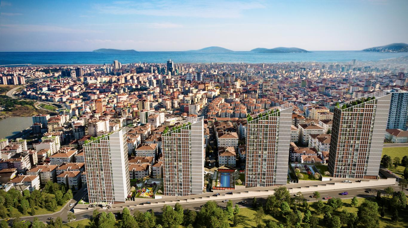 Residential area in Maltepe for nature lovers 16