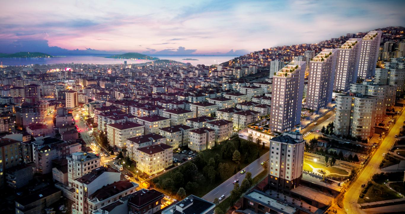 Residential area in Maltepe for nature lovers 15
