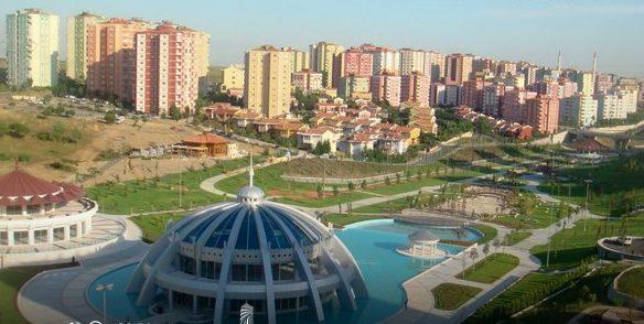 Basaksehir Area In Istanbul